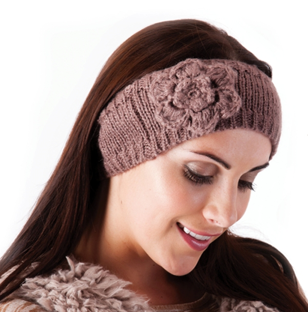 How to Crochet a Headband or Earwarmer