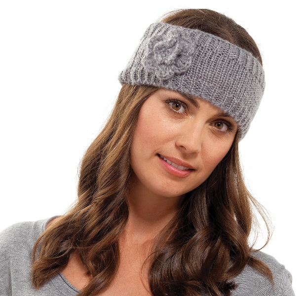 Womens Girls Ladies Wool Knitted Headband Winter Ski Hair