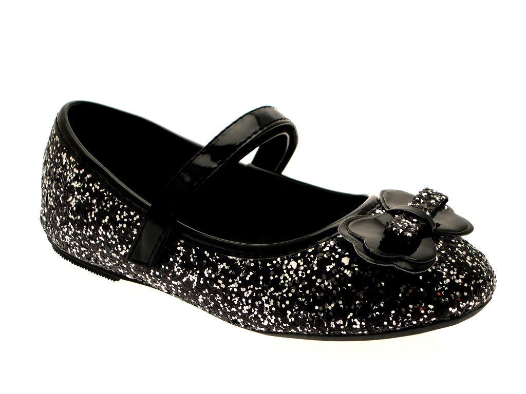 Buy girls black sparkly shoes cheap,up