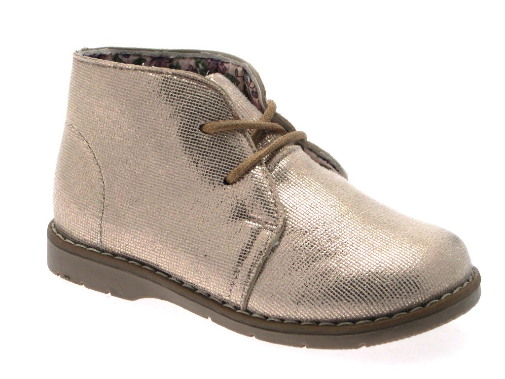 New Girls Kids Desert Ankle Boots Lace Up Faux Suede Party