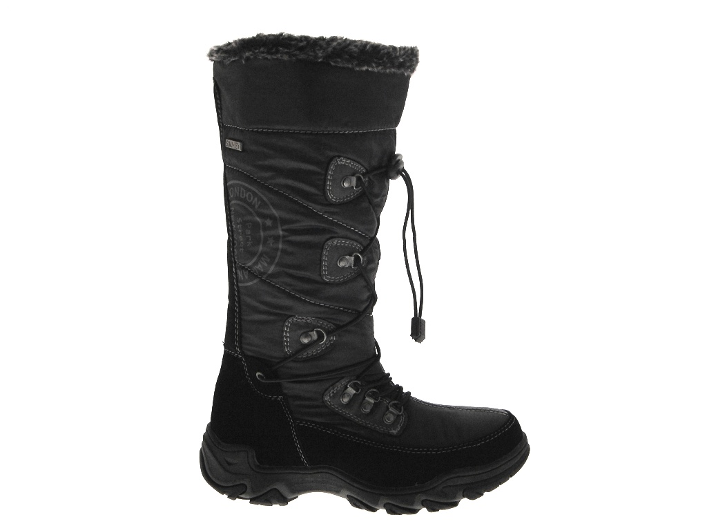 WOMENS LADIES GIRLS SNOW BOOTS WATERPROOF ZIP FUR LINED MUCKER