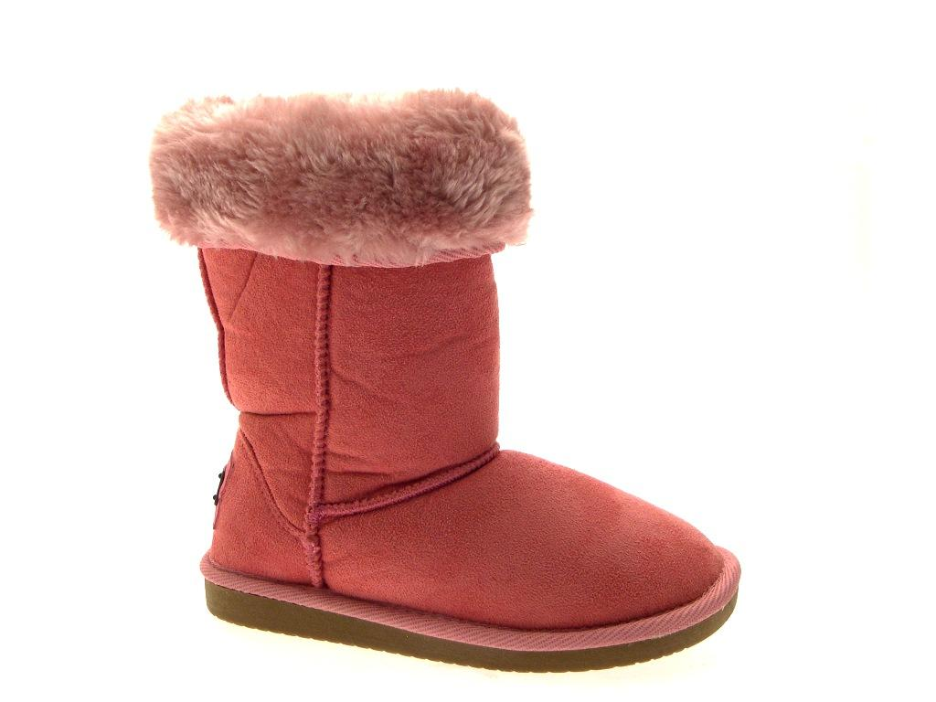 Classic Kids Fur Lined Faux Sheepskin Boots