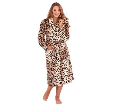 XL BELT LADIES S//M WOMENS FULL LENGTH FLEECE BATH ROBE DRESSING GOWN HOUSECOAT