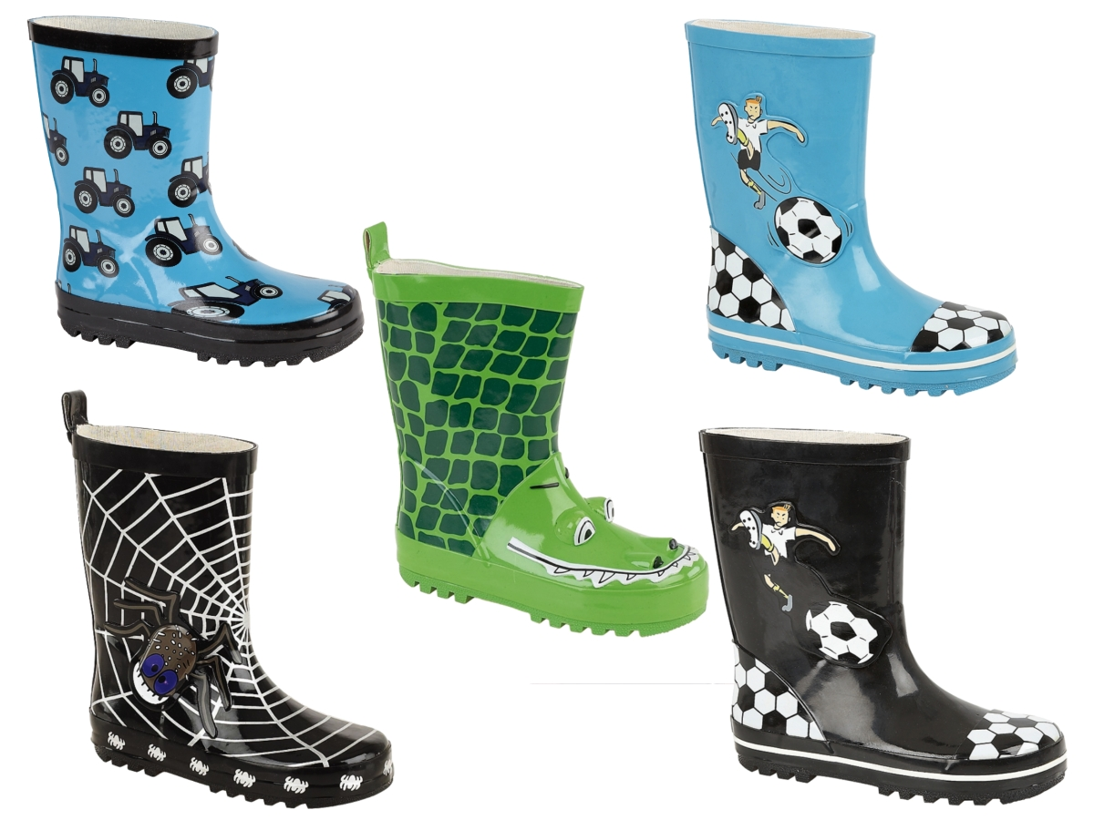 See our collection of Boys wellingtons suitable for everyday adventures, whether rain or snow we have a great range of reliable brands such as, Clarks, Startrite.