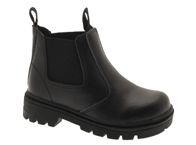 NEW-BOYS-BLACK-SCHOOL-LEATHER-BOOTS-SHOES-SIZE-9-13