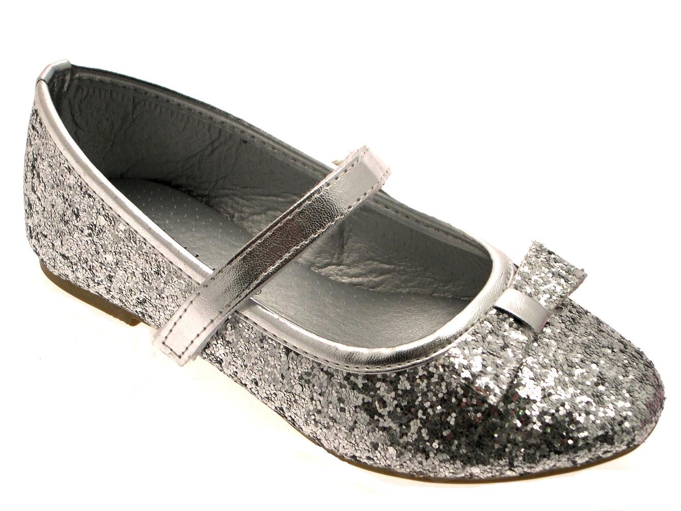 Childrens Sparkley Party Shoes Uk