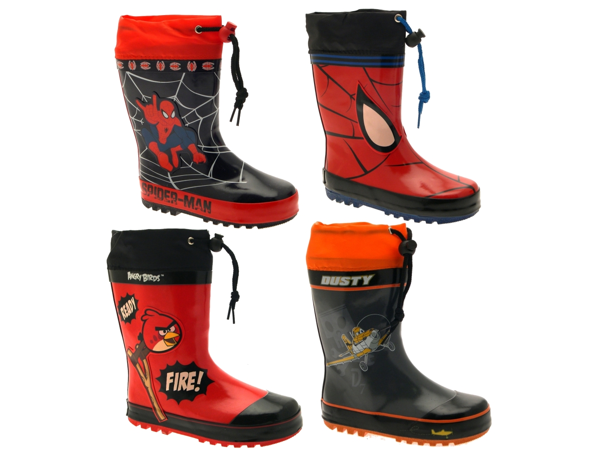 For boys' traditional wellington boots with a twist, look no further. If you're after a bright, patterned and hardwearing welly, you're in the right place. For advice on how Phone: (0)