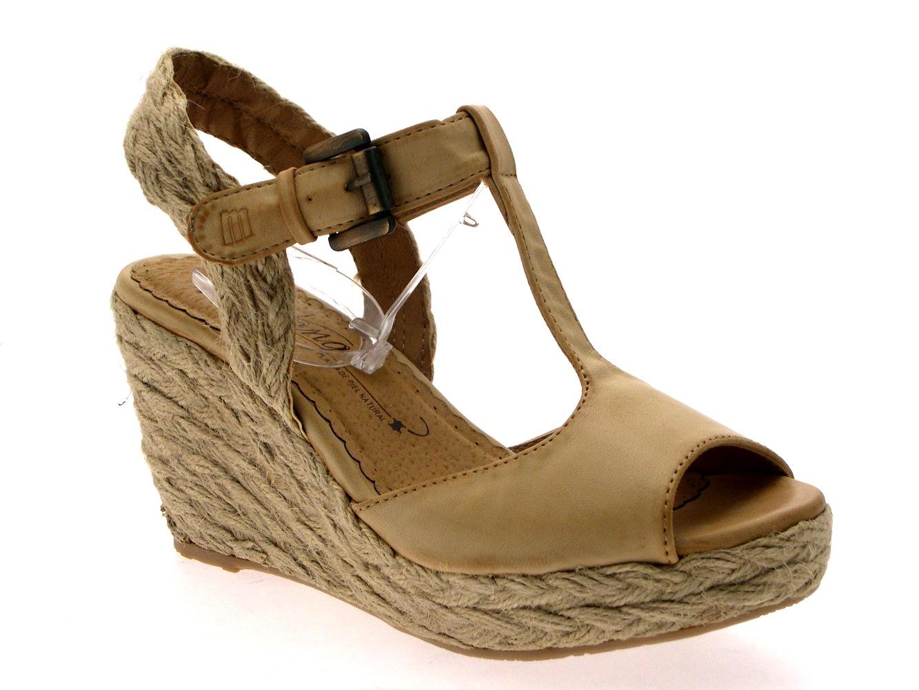 Innovative  Sandals Lvaro Gonzlez Womens Flat Sandal ANGELA METALLIC ROPE