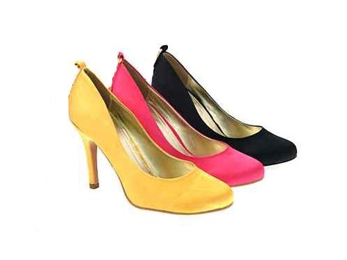 Para Mujer De Aguja tacones altos de boda nupcial completo el Tribunal Zapatos señoras tamaño 3-8