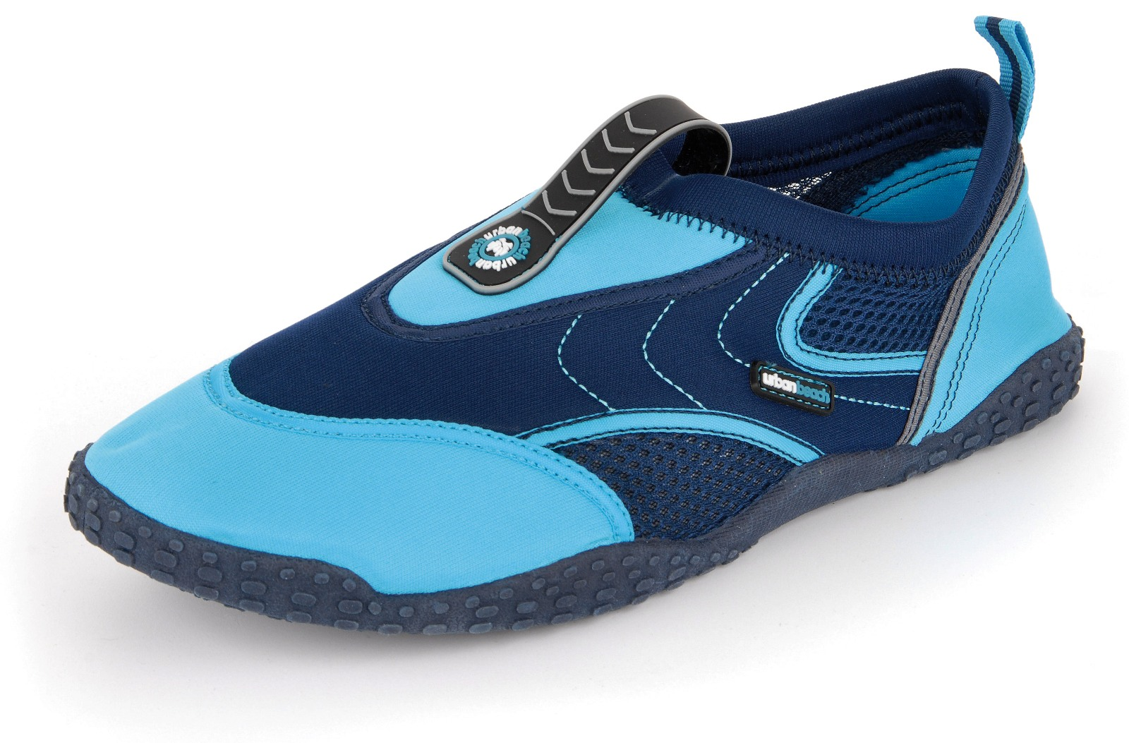 water shoes & sandals Splash in a stream or wade through the shallows in a pair of water shoes or water sandals. Reliable water shoes come with a hard sole to protect your feet from cuts and abrasions.