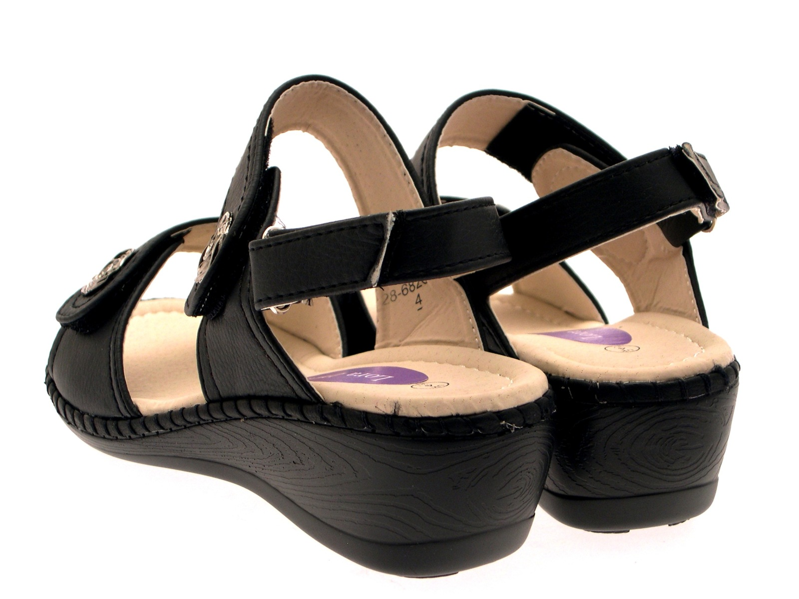 Womens Velcro Shoes Wide