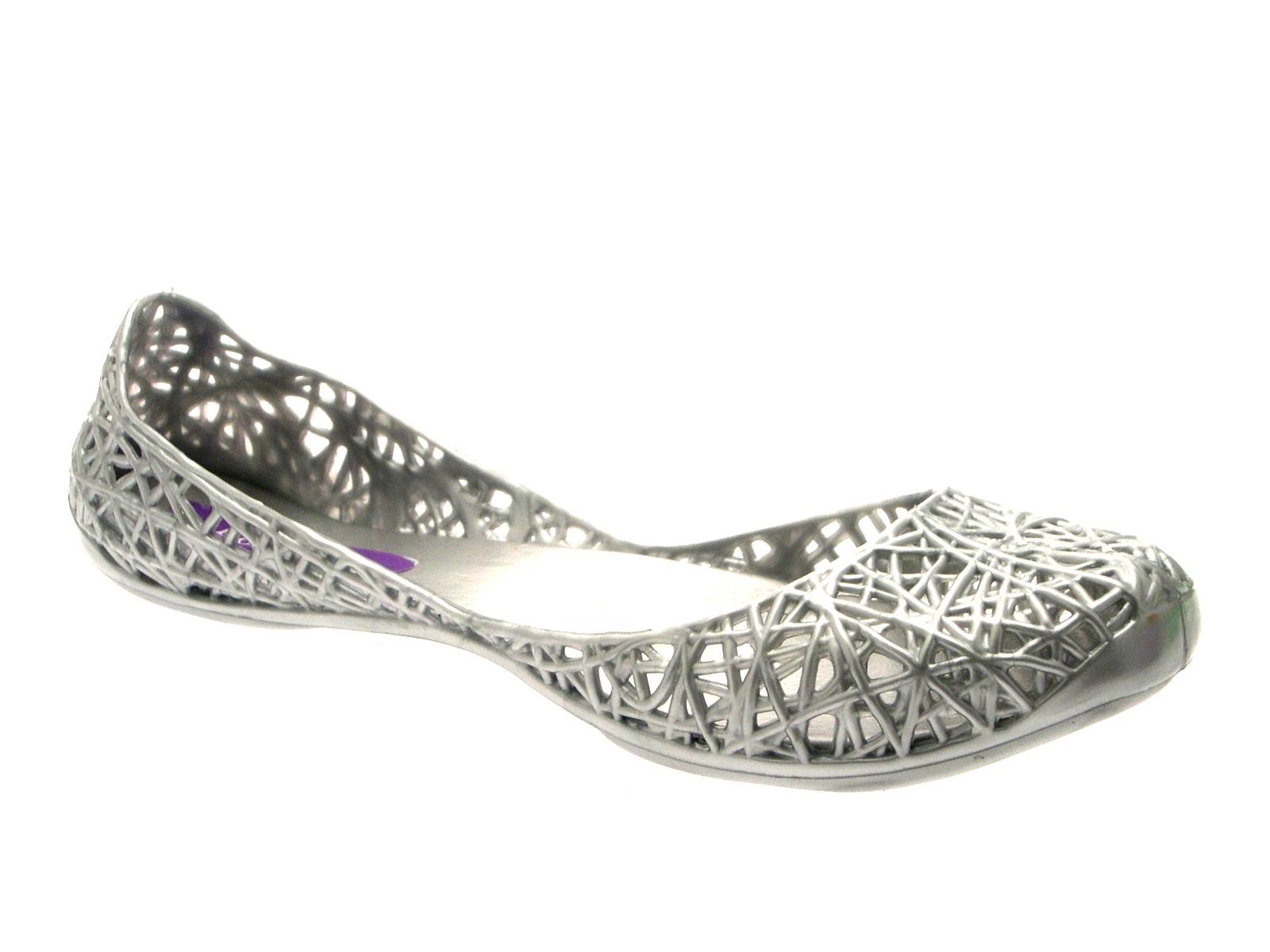 Mujer Jalea Flip Flop Brillo Ballet Bombas Zapatos Sandalias Playa Verano De Las Señoras