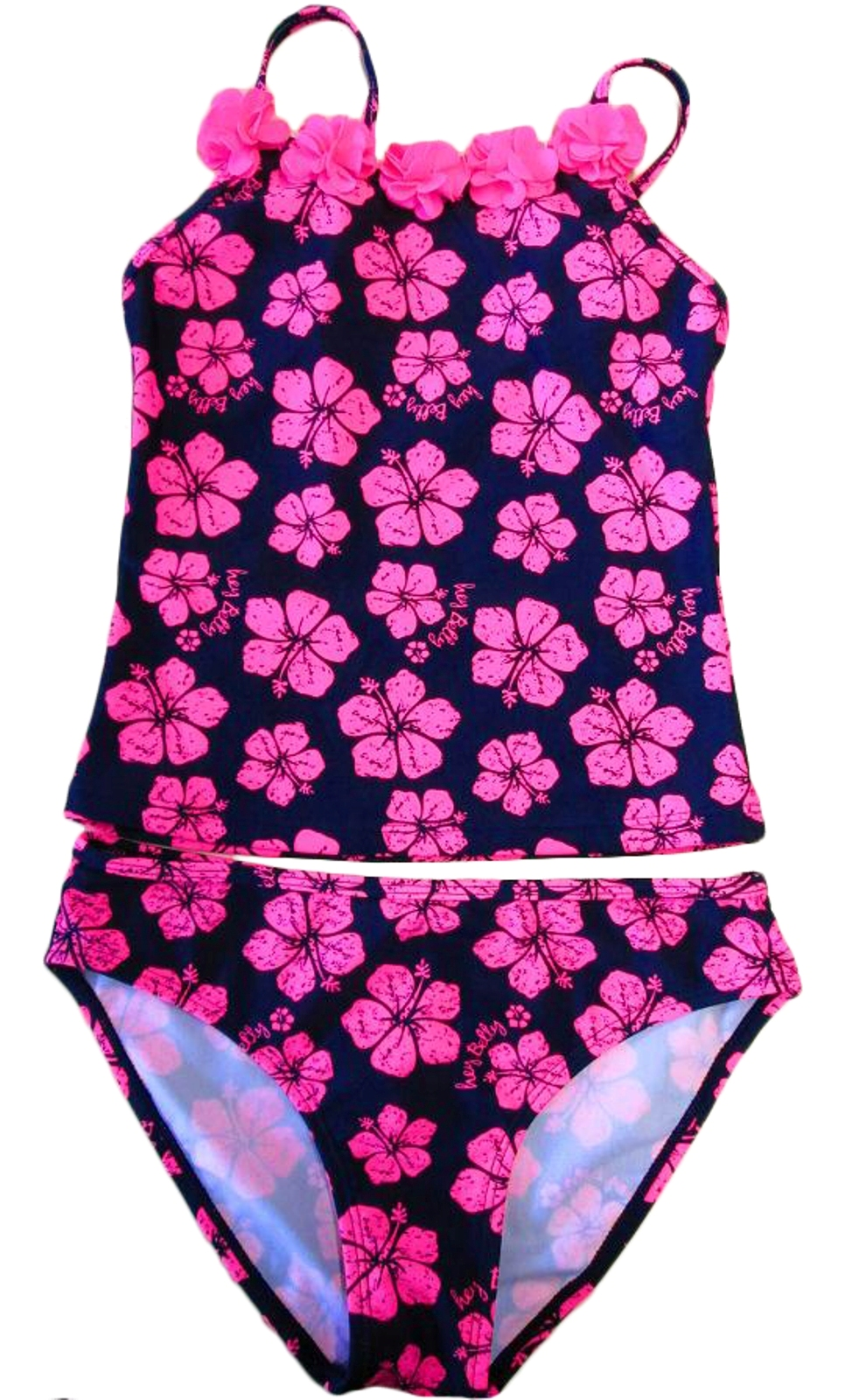 Ragazze Bambini Bimbi Set Bikini Costume Da Nuoto Tankini Estate Spiaggia 3-12 anni