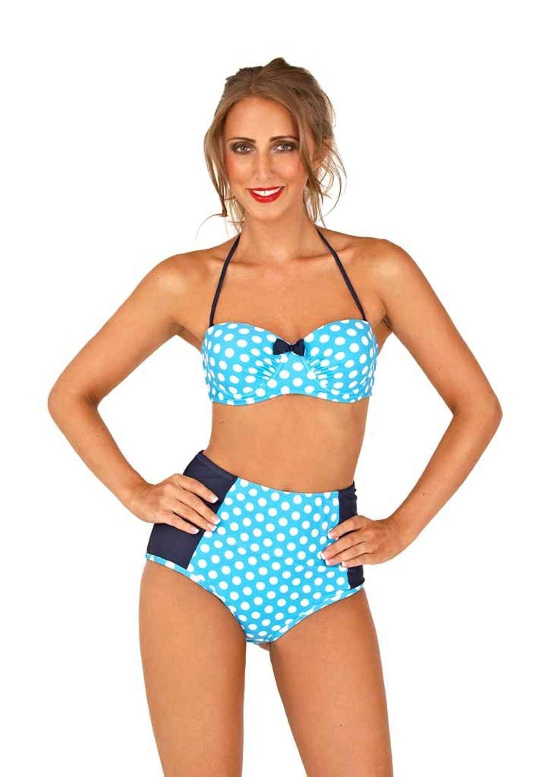 High waisted bikini uk