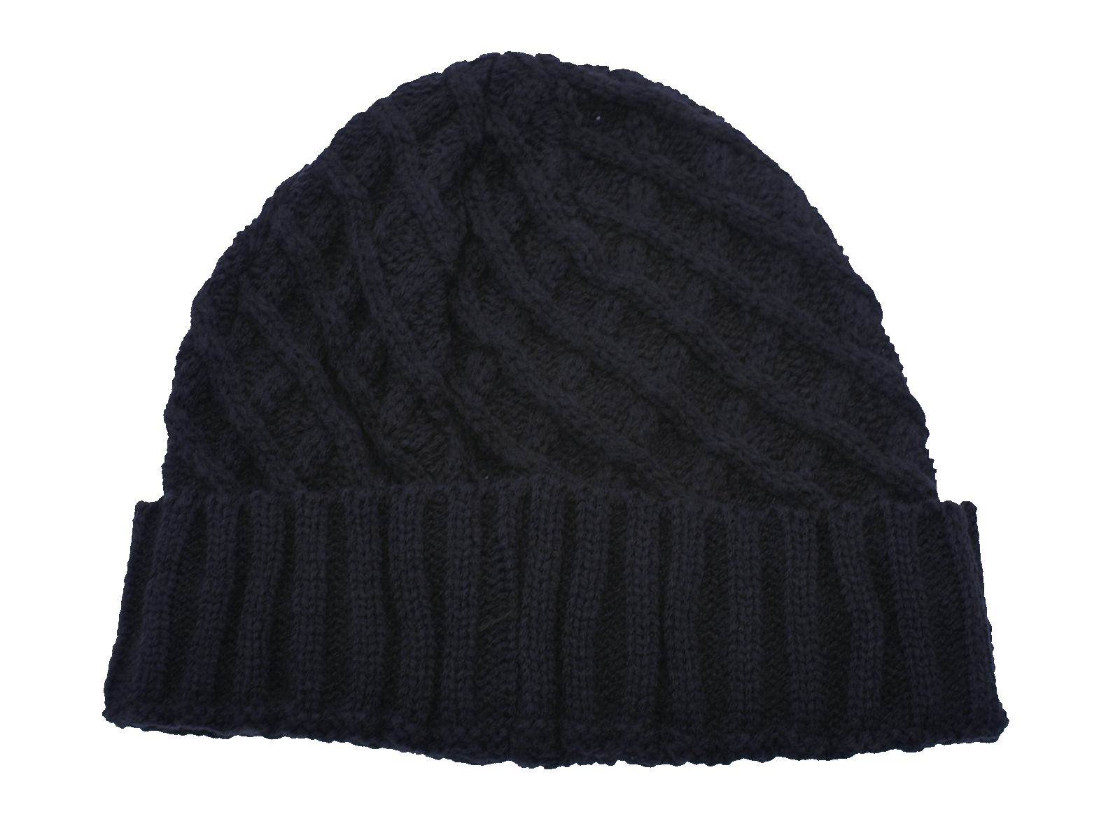 Mens Winter Knitted Wooly Hats Beanie Bobble Hat Warm ...