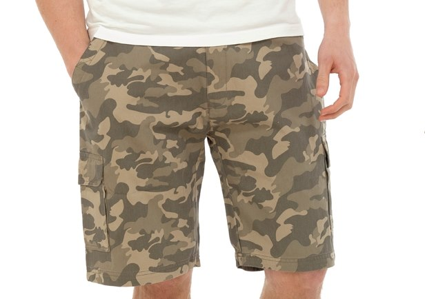 Boys Camouflage Camo Cargo Shorts Summer Childrens Combat Army Pants Kids Size