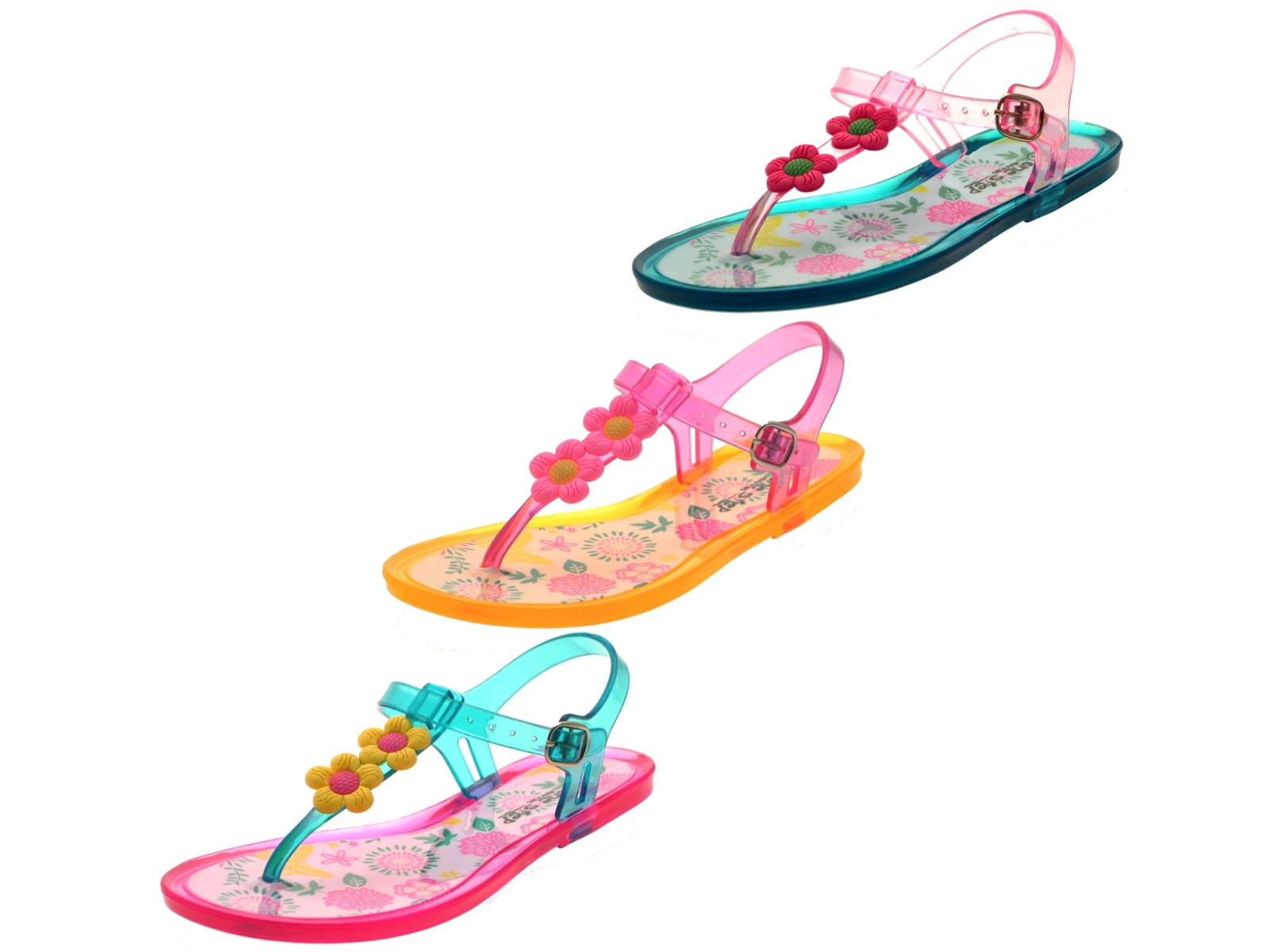Shop the sweetest selection of jelly shoes from some of your favourite designers. Made with the smoothest PVC, these quick-drying shoes are an ideal addition for playing on the beach or in water. Discover trainers, pumps, sandals and flip-flops, all made in this stylish, yet versatile material for both girls and boys, from baby to teen.
