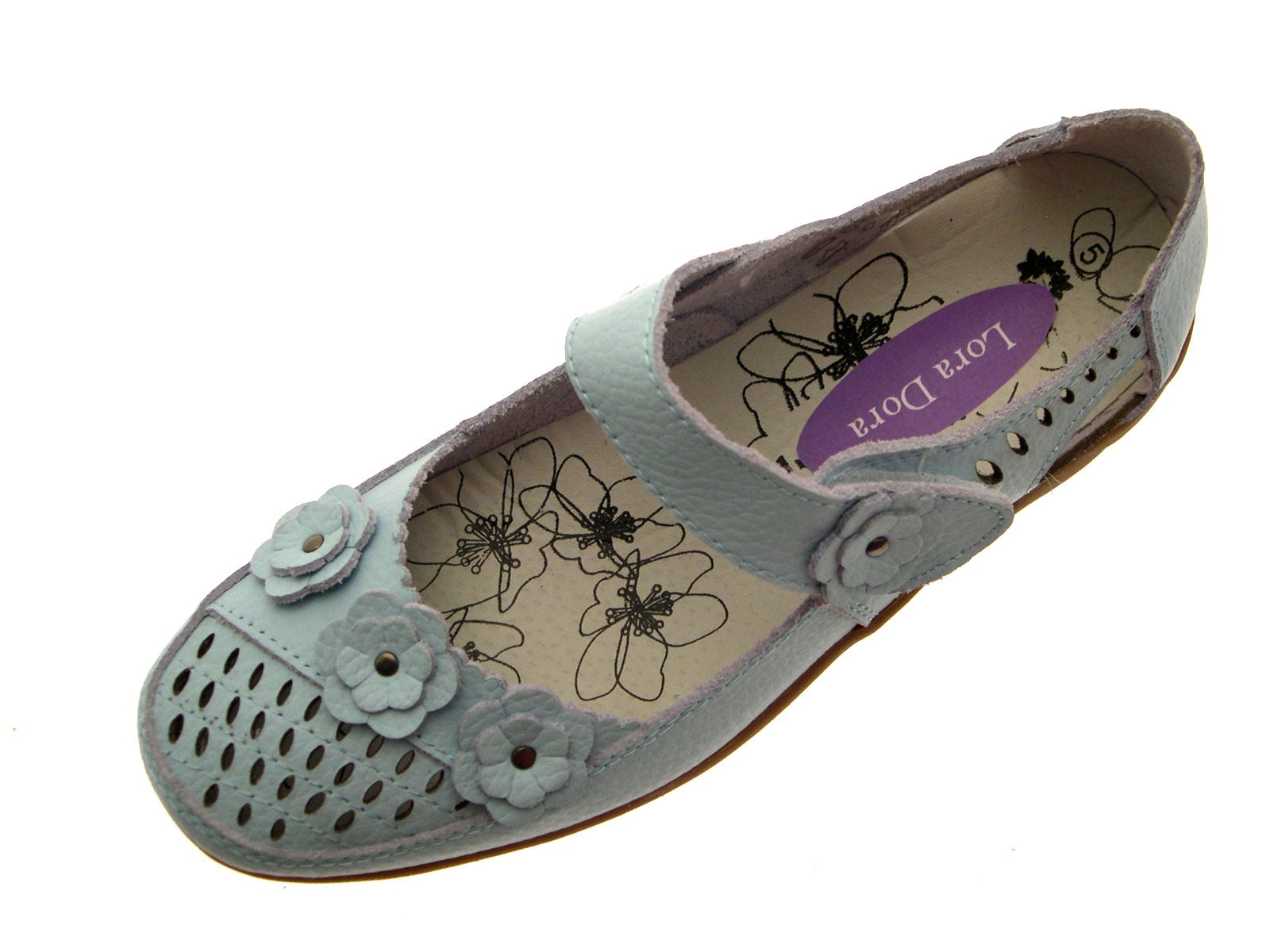 womens leather casual comfort flat work shoes