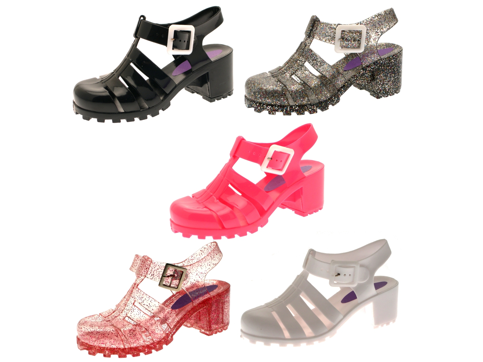 Infant Sandals: Baby Jelly Sandals Size 2