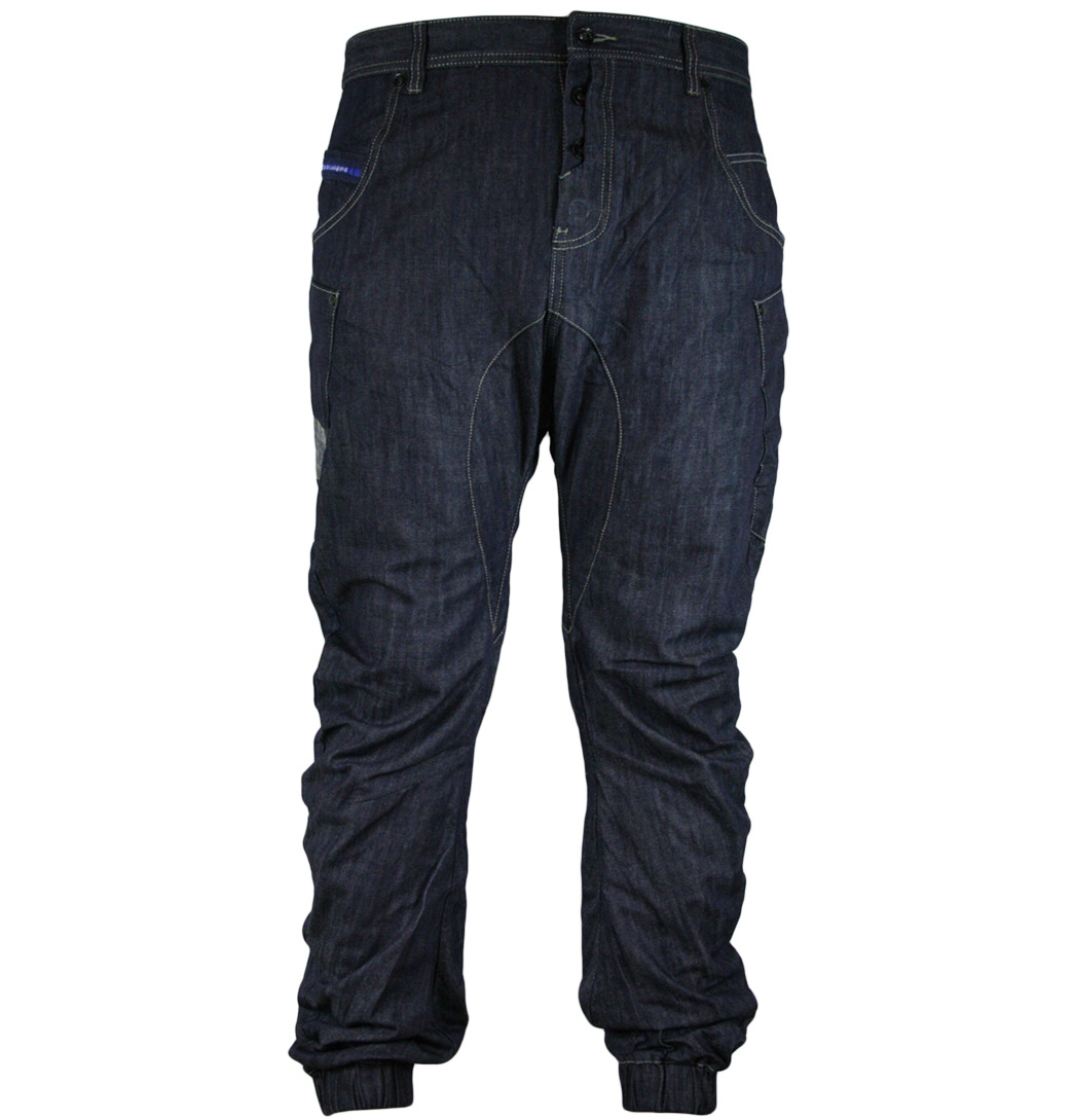 Gio Goi Damage Carrot Fit Mens Jeans SS11 Blue Denim  eBay
