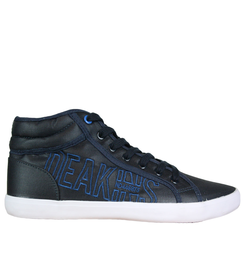 Deakins-Norton-Mens-Trainer-Boots-Navy