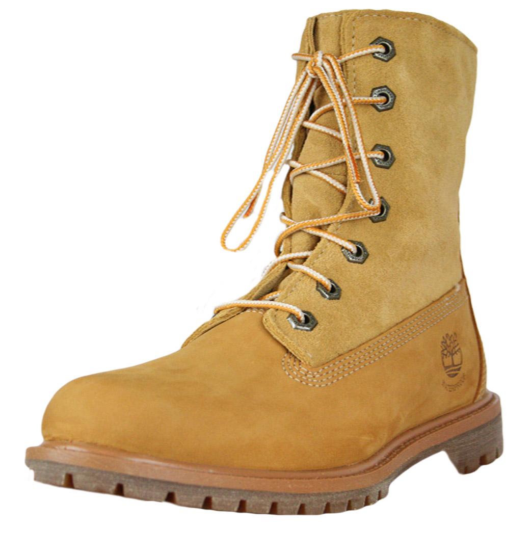 Original Timberland  AUTHENTICS TEDDY FLEECE WATERPROOF FOLD DOWN Boots Women