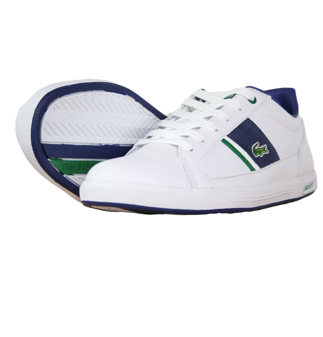 Lacoste Europa LS SPM Mens Trainers AW11 White