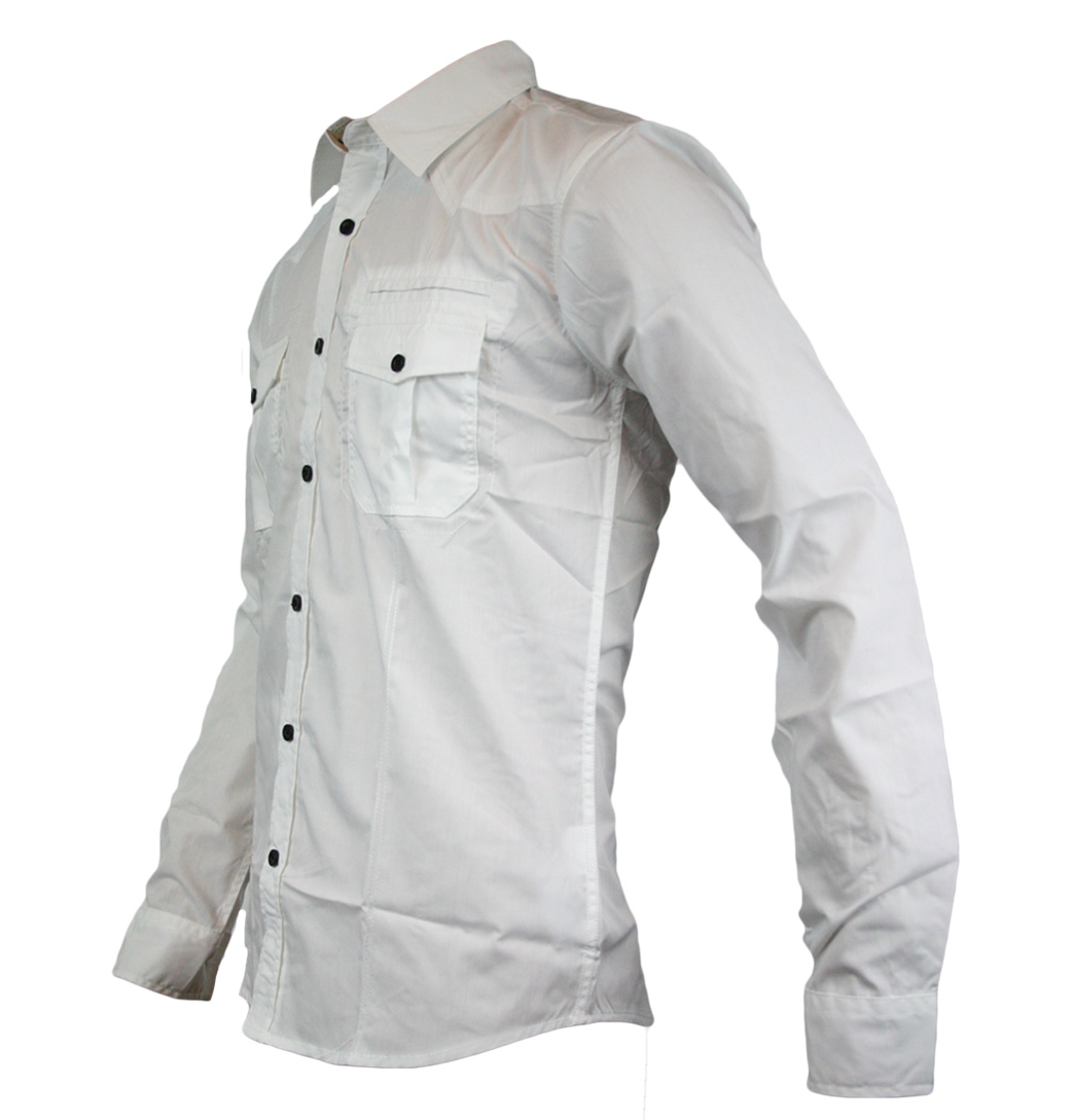 Jack-Jones-Marlone-Designer-Mens-Longsleeve-Shirt-AW11-White