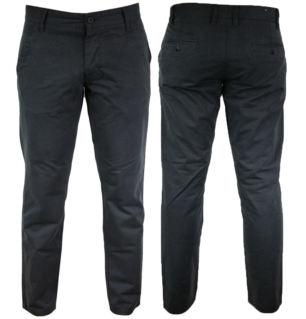 Jack Jones Bolton Edward Mens Chinos SS12 Dark Grey Enlarged Preview