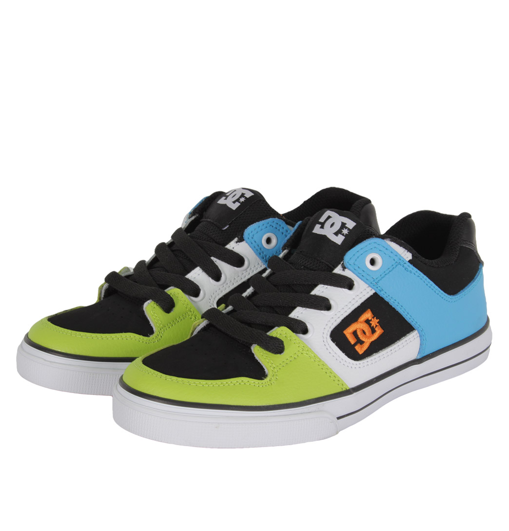 dc shoes 301069a youth juniors trainers ss12 green