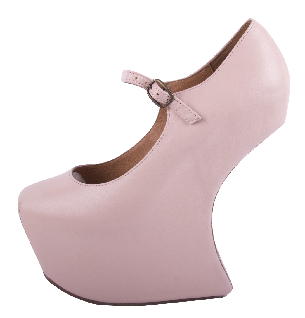 jeffrey cbell nightwalk womens platform shoes baby pink