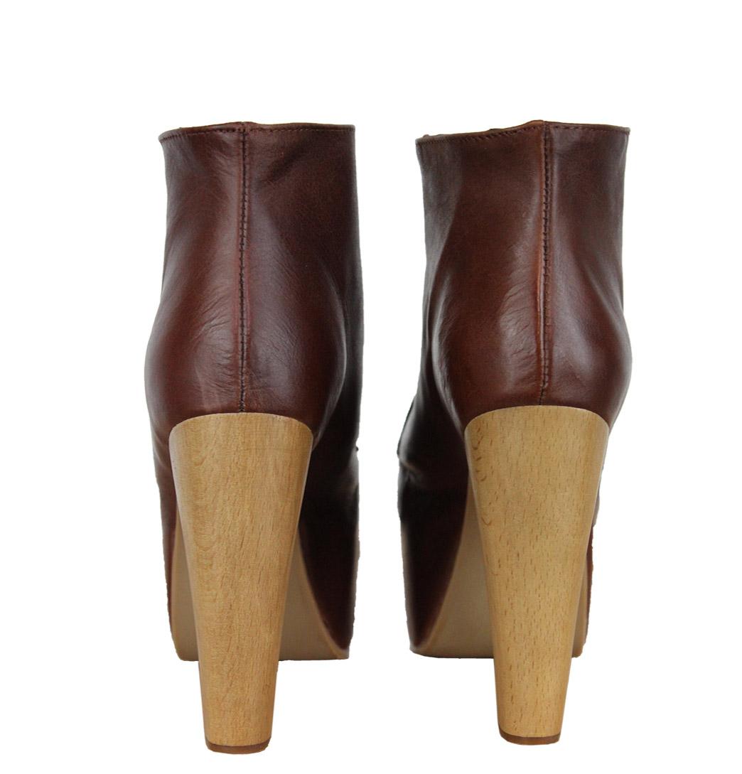 title jeffrey campbell lita womens platform shoes brown rrp 120 00