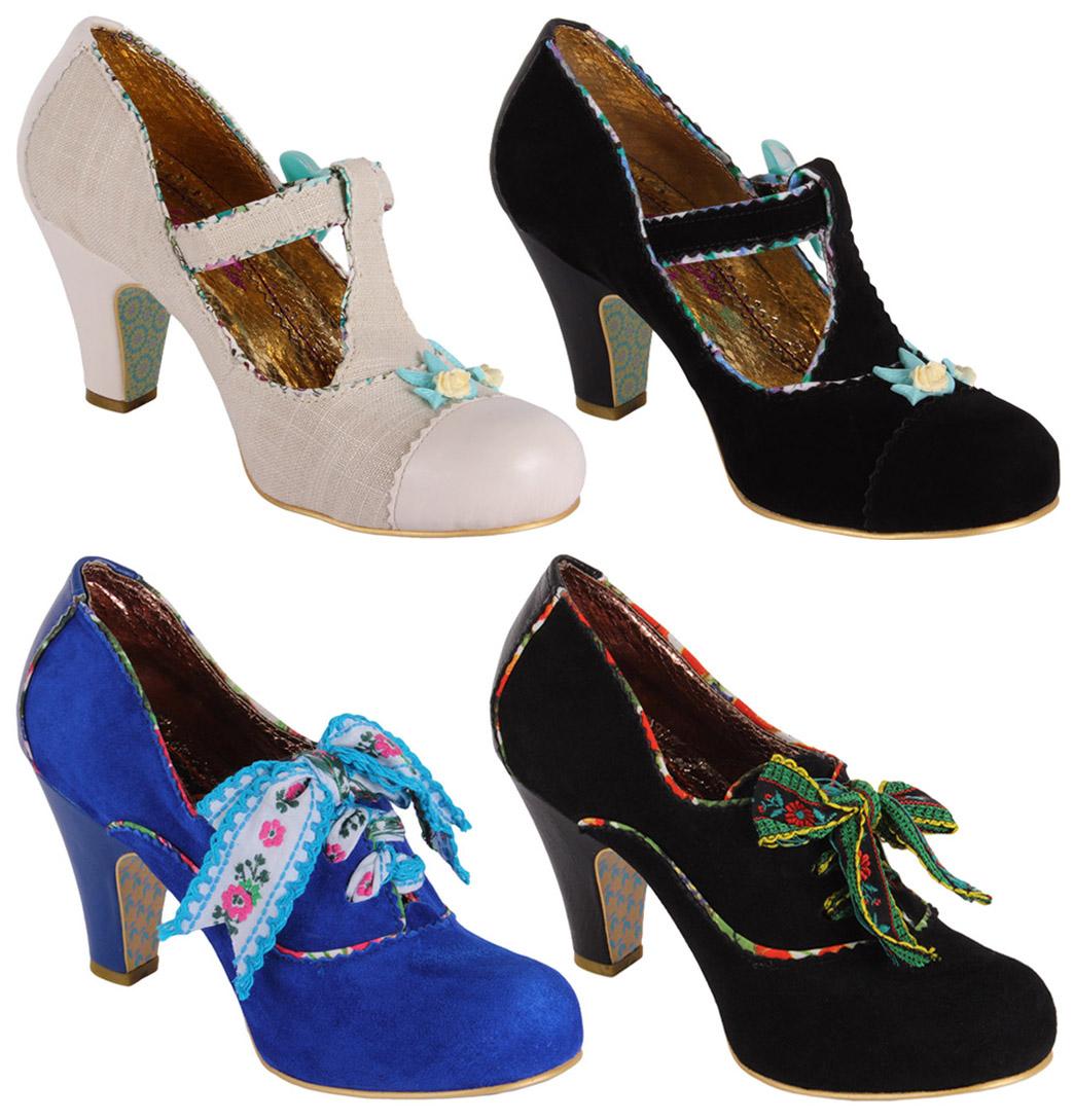 Irregular-Choice-Womens-Designer-Heels-Shoes-Fresh-Cut-Grass-OR-Summer
