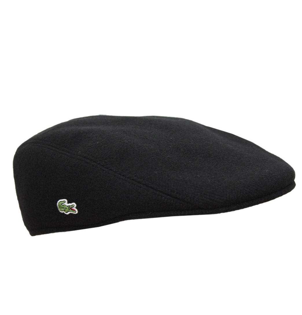 b9628a0b96a Hype Direct Clothing - Lacoste RK9814 Mens Flat Cap AW13 031 Black