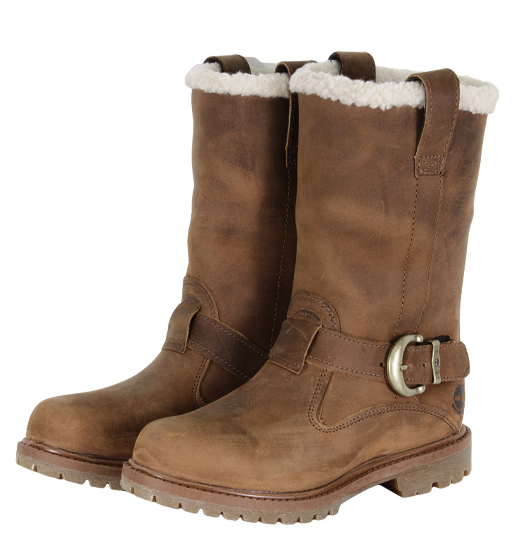 timberland nellie pull on womens boots brown ebay