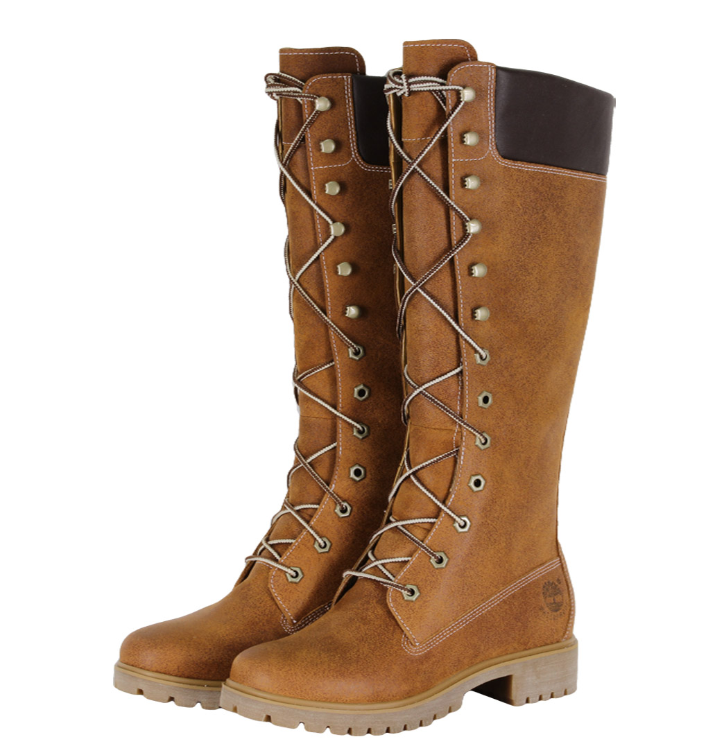 Timberland Premium 14-Inch Womens Boots Medium Brown Enlarged Preview
