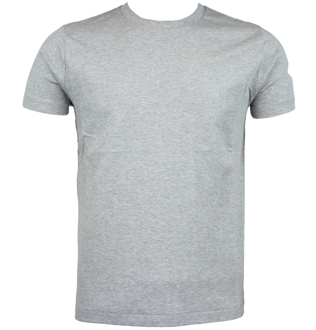 Soft, heather gray t-shirt featuring a custom Park Tool logo on the front.