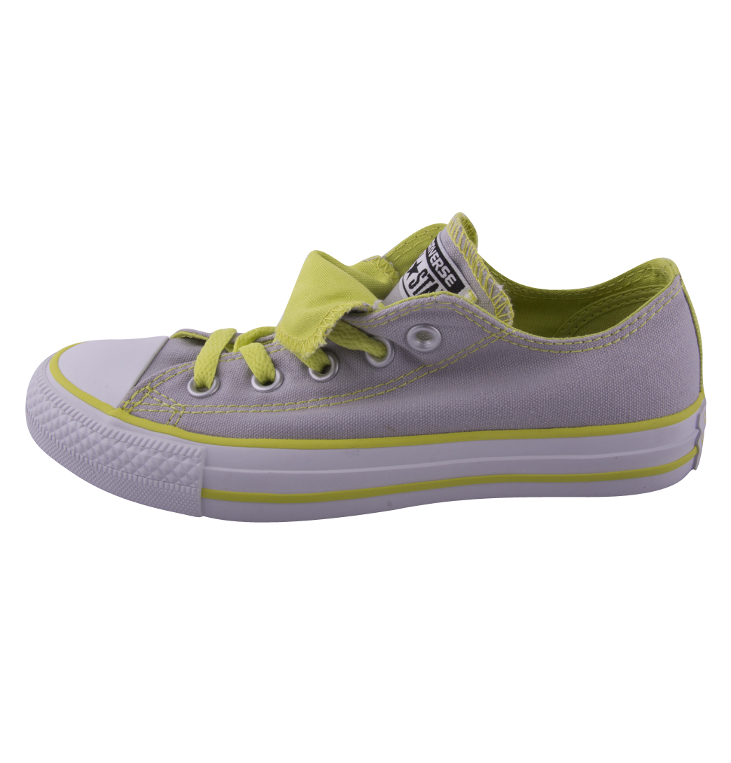 Converse-Chuck-Taylor-All-Star-542578F-OX-Ladies-Trainer-Grey-Light-Green