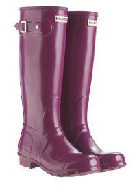 Hunter Original Tall Gloss Größe Violet Wellies UK Größe Gloss 3-8 a4ff7f