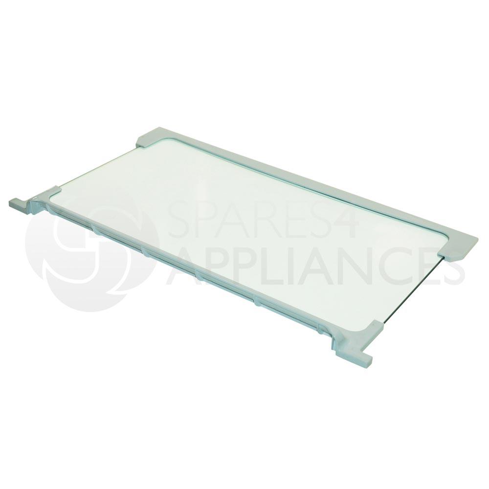genuine beko fridge freezer glass shelf 4312240400 ebay. Black Bedroom Furniture Sets. Home Design Ideas