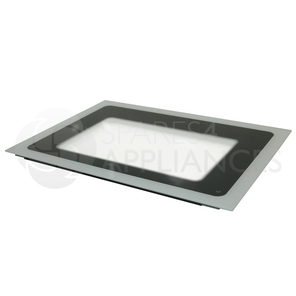 how to fix oven door glass