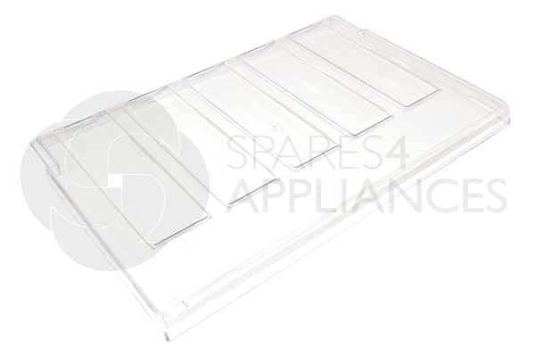 Genuine Servis Hygena Refrigerator Vegetable Drawer Cover Shelf 651006823 Enlarged Preview