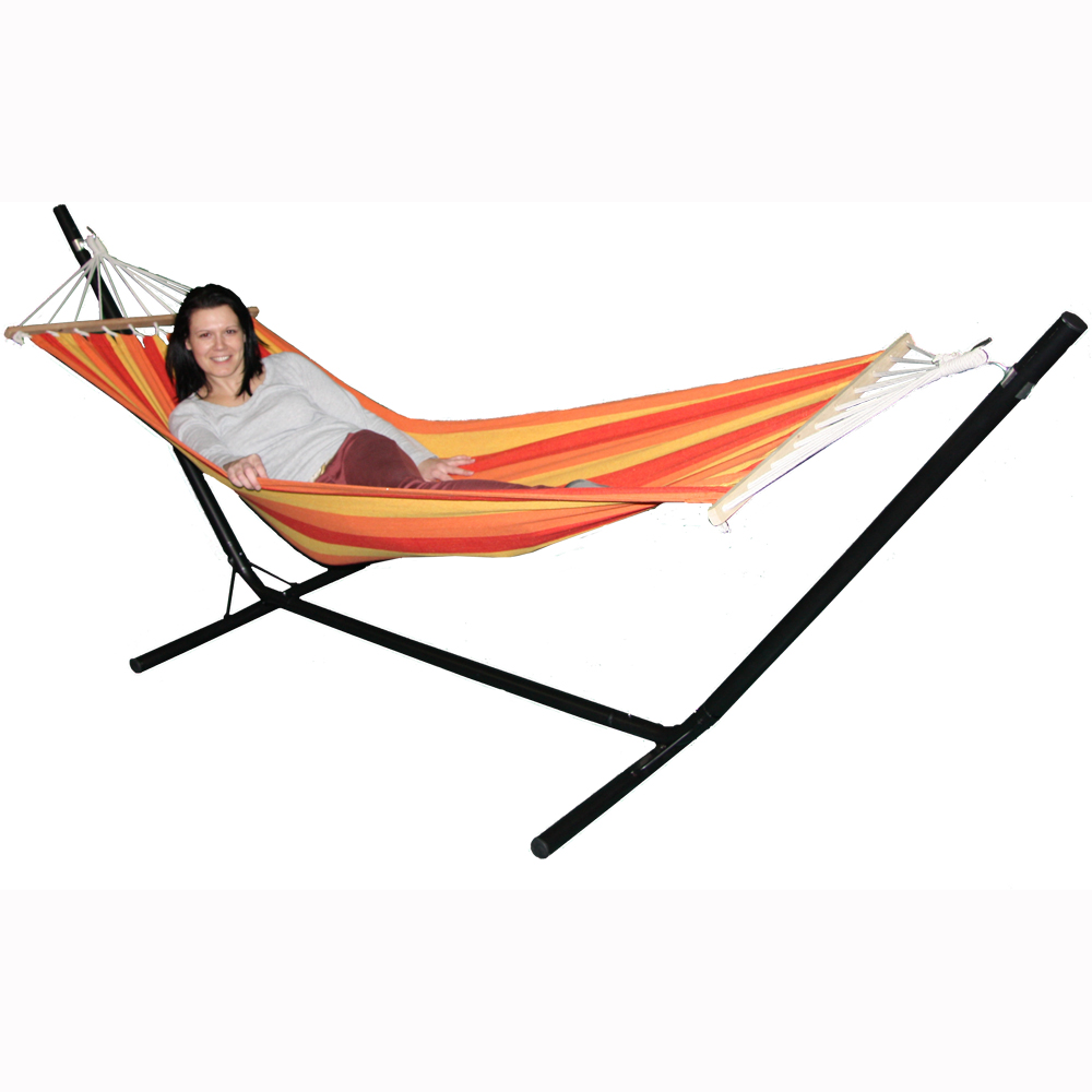 Backyard Hammock Stand : Redstone Hammock and Steel Stand  Garden Outdoor Lounger Swing Chair