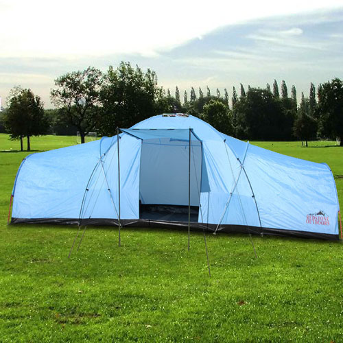Largest Family Camping Tents : Man tunnel tent large berth person family