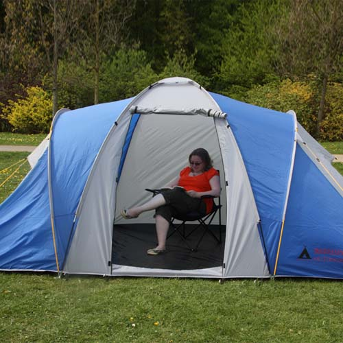 Whistler 4 Man Tent - Family Camping Tents Berth / Person ...