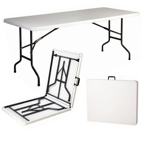 Folding Trestle Table 6ft Or 4ft Camping Banquet