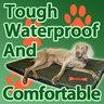 View Item Redbone Waterproof Dog Bed Medium