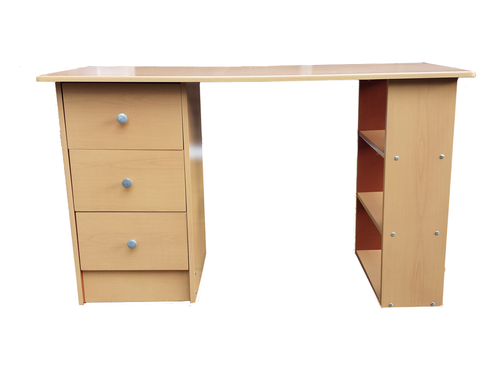 3-Drawer-Computer-Desk-Home-Office-Table-Workstation