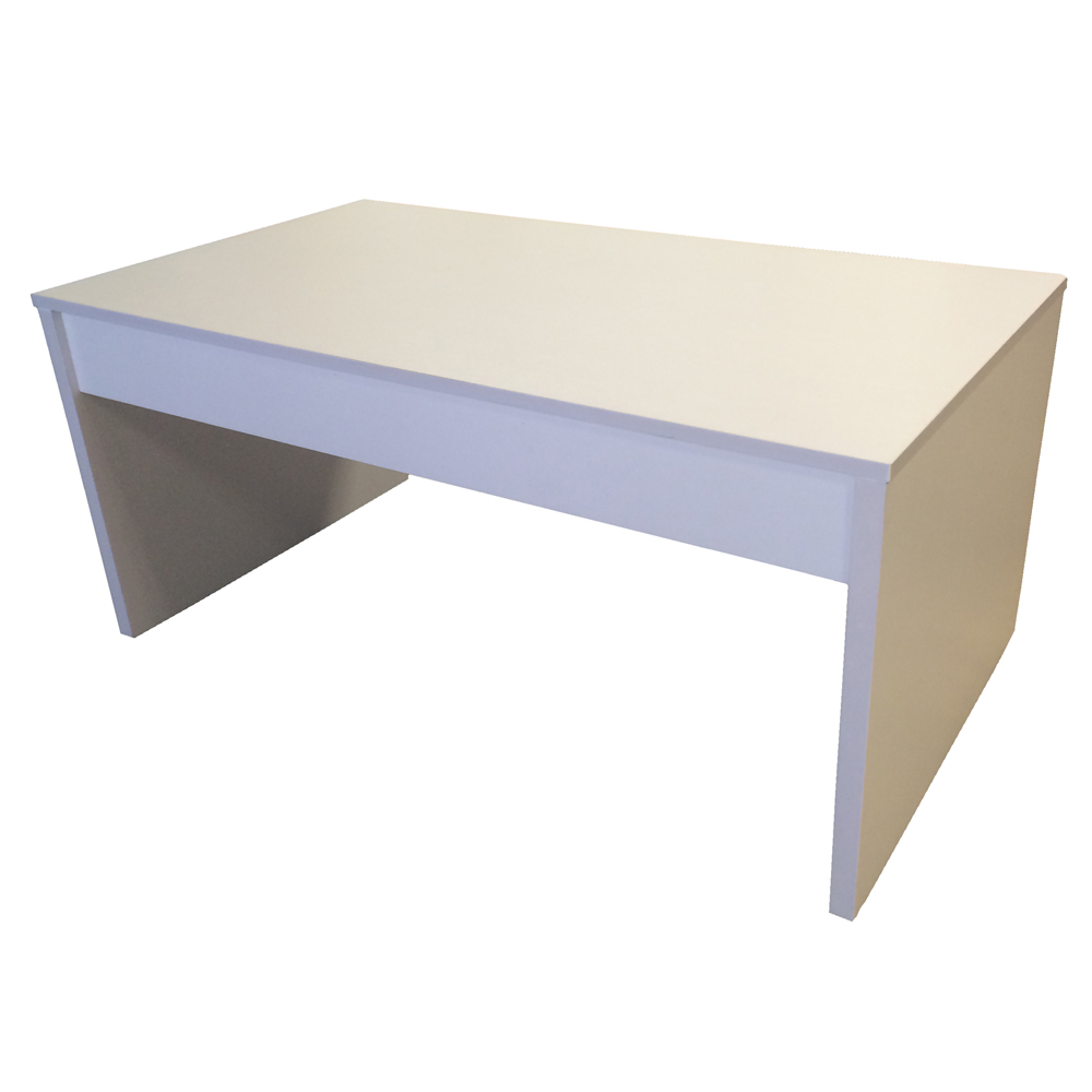Coffee Table White Lift Up Top With Storage Lounge Living Room Customer Return Ebay