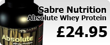 Sabre Nutrition Absolute Whey Protein